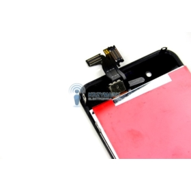 WYŚWIETLACZ Z DIGITIZEREM IPHONE 4 A1332 A1349 CZARNY APPLE FULL SET - Wyświetlacze z digitizerami do telefonów