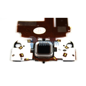 PŁYTKA TAŚMA KLAWIATURY TAŚMA FLEX WYŚWIETLACZA LCD NOKIA N96 - Klawiatury do telefonów