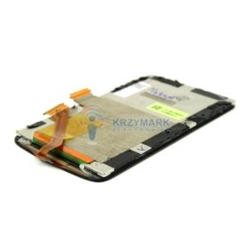 WYŚWIETLACZ Z DIGITIZEREM FULL SET HTC DESIRE S S510E - Wyświetlacze z digitizerami do telefonów