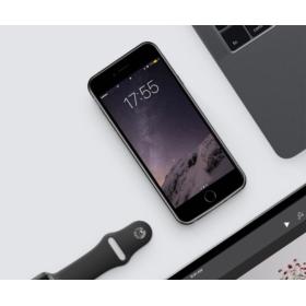 ETUI Z BATERIĄ POWER BANK CASE APPLE IPHONE 7 8 2500 mAh - Powerbanki