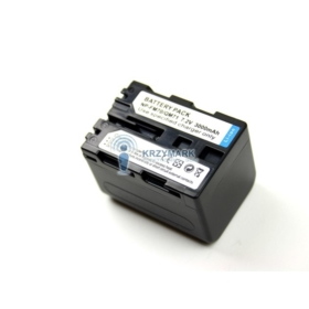 BATERIA AKUMULATOR SONY NP-FM90 NP-FM91 NP-QM90 NP-QM91 QM70 - Baterie do aparatów cyfrowych