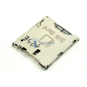 GNIAZDO CZYTNIK ZŁĄCZE KARTY SIM HTC ONE X S720E S728E C620E - Uchwyty karty SIM do telefonów