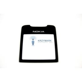SZYBKA NOKIA 8800 CZARNA Z KLEJEM - Szybki do telefonów