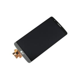 WYŚWIETLACZ Z DIGITIZEREM LG G3 D850 D851 D855 D850 VS985 LS990 SZARY - Wyświetlacze z digitizerami do telefonów