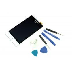 WYŚWIETLACZ Z DIGITIZEREM HTC 8S A620E Z NARZĘDZIAMI BIAŁY - Wyświetlacze z digitizerami do telefonów