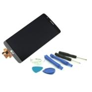 WYŚWIETLACZ Z DIGITIZEREM FULL SET LG G3 D850 VS985 LS990 D855 D851 Z NARZĘDZIAMI SZARY - Wyświetlacze z digitizerami do tele...