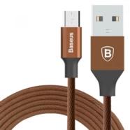 KABEL MICRO USB BASEUS YIVEN BRĄZOWY 1,5M