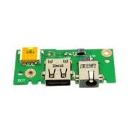 GNIAZDO MODUŁ ZASILANIA USB ASUS X301A X401A X501A 60-NLOIO1001 X301A_IO X401A_IO X501A_IO BOARD - Moduły