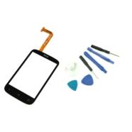DIGITIZER DOTYK EKRAN SZYBKA HTC DESIRE C A320E Z NARZĘDZIAMI - Digitizery do telefonów