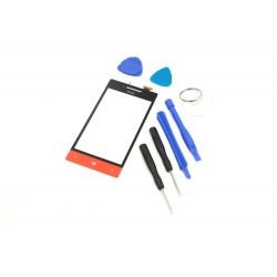 DIGITIZER EKRAN HTC 8S A620E Z NARZĘDZIAMI CZERWONO-CZARNY - Digitizery do telefonów
