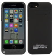 POWER CASE IPHONE 7 8 6 6S 3200MAH CZARNY APPLE ETUI Z BATERIĄ