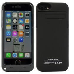 POWER CASE IPHONE 7 8 6 6S 3200MAH CZARNY APPLE ETUI Z BATERIĄ