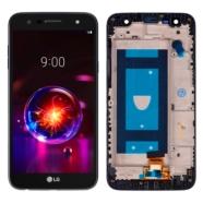 WYŚWIETLACZ Z DIGITIZEREM LG X POWER 2 CZARNY Z RAMKĄ