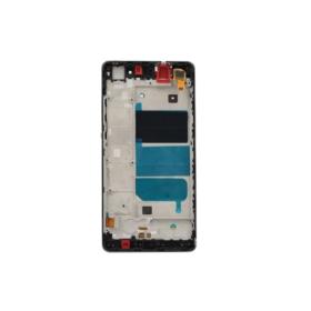 WYŚWIETLACZ I DIGITIZER HUAWEI P8 LITE ALE-L21 CZARNY Z RAMKĄ FULL SET - Wyświetlacze z digitizerami do telefonów