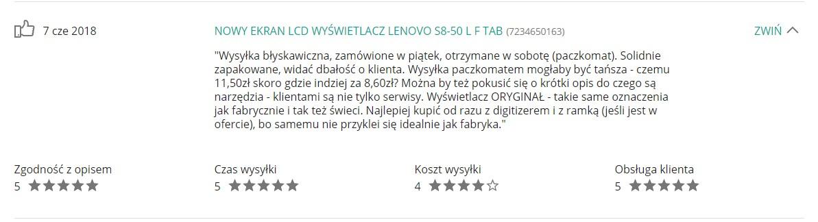 Opinie Krzymark Kontakt 30