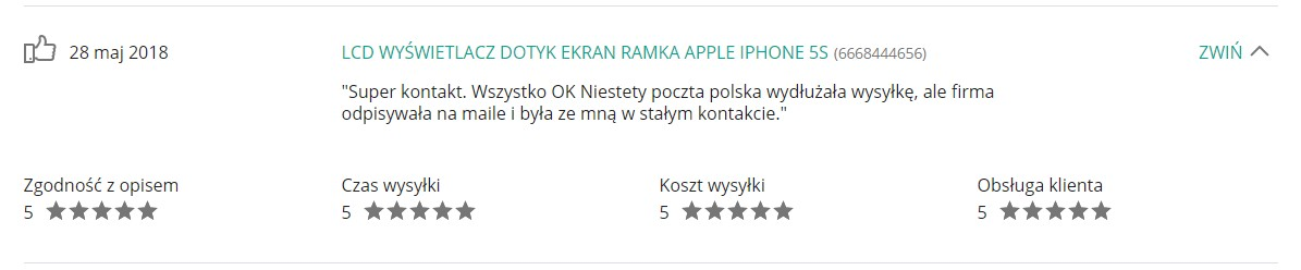 Opinie Krzymark Kontakt 31