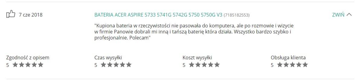 Opinie Krzymark Sklep Elektroniczny 34