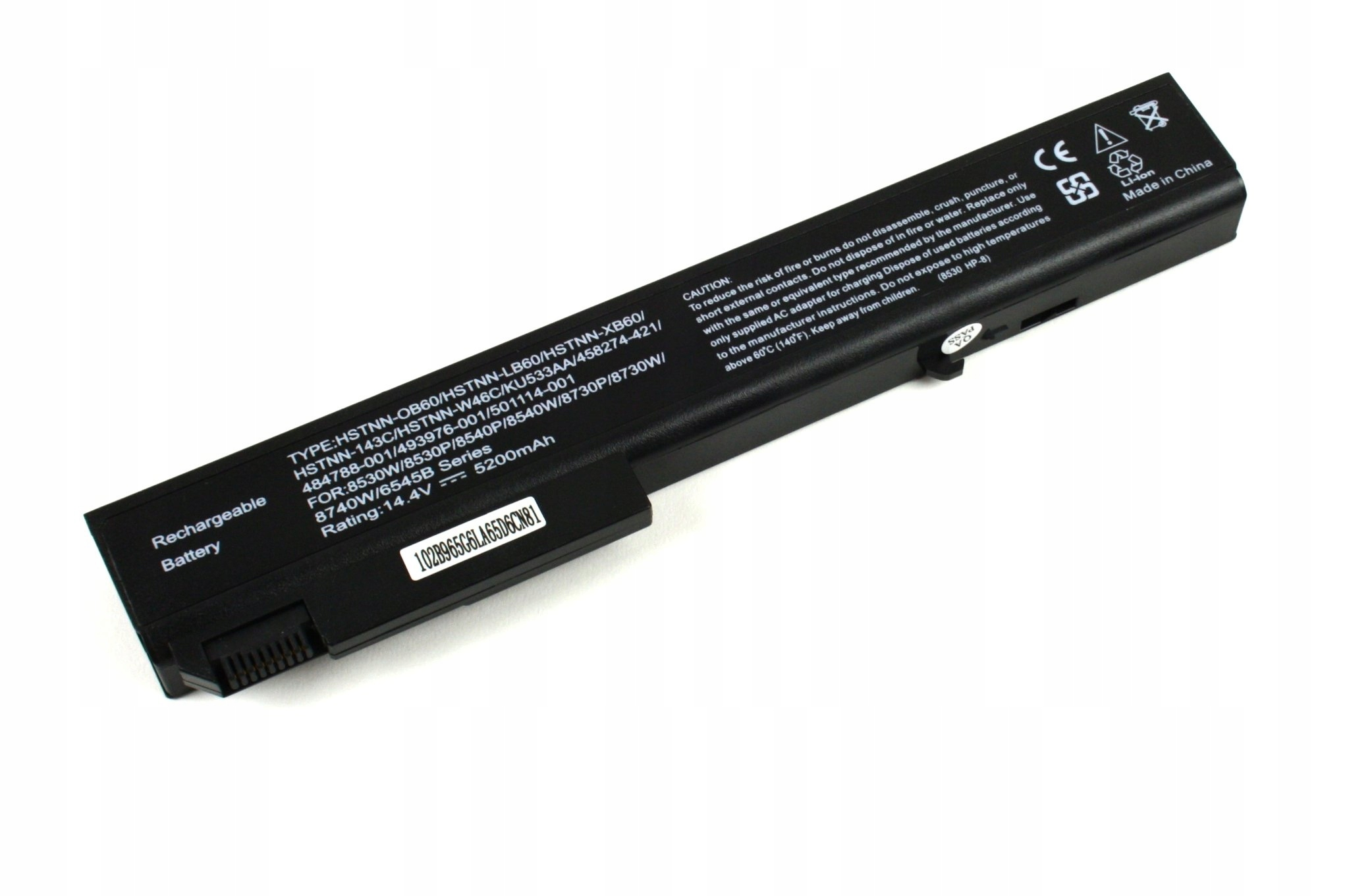 BATERIA AKUMULATOR HP ELITEBOOK 8530P 8540P 8540W 8730W 8740W - Baterie do laptopów