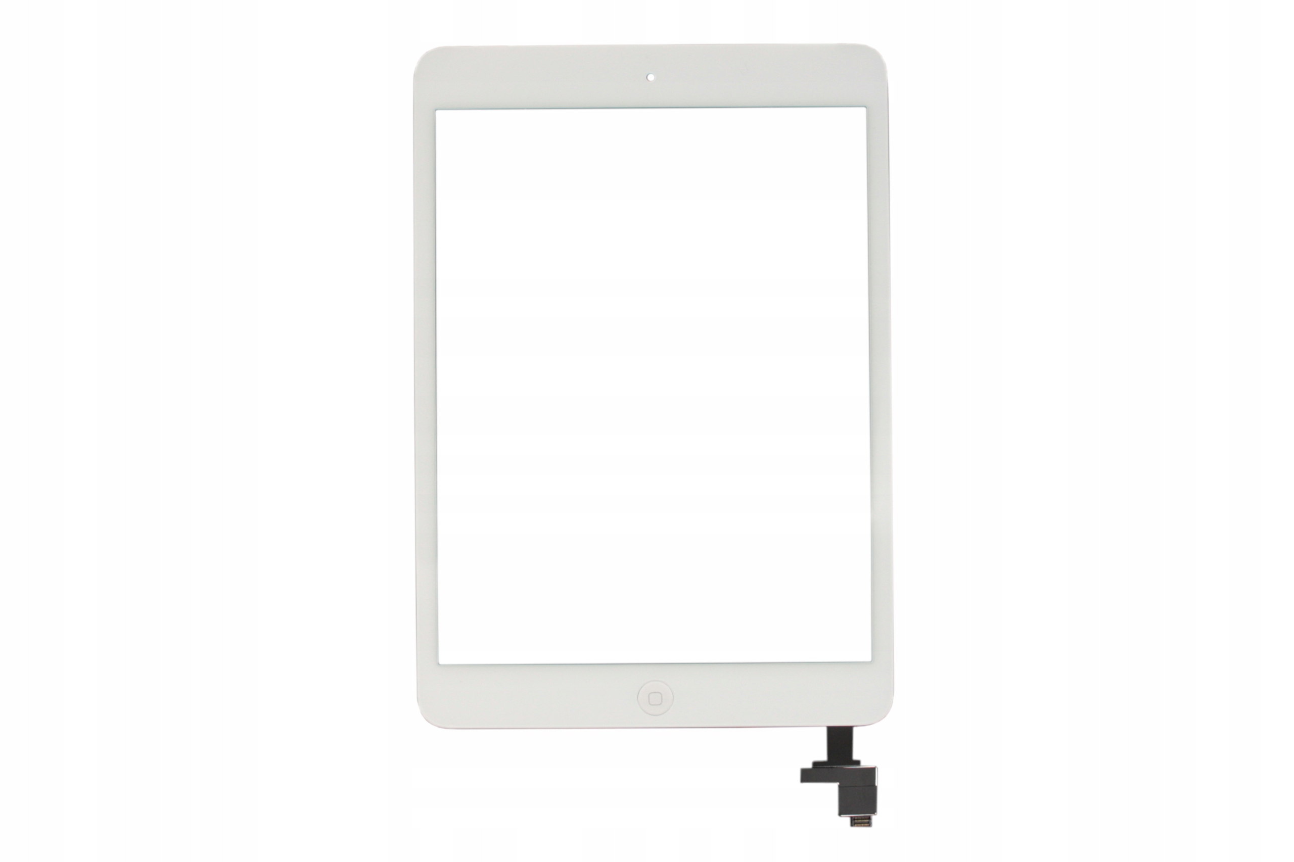 DIGITIZER APPLE IPAD MINI A1432 A1454 A1455 BIAŁY HOME UKŁAD IC KLEJ - Digitizery do tabletów